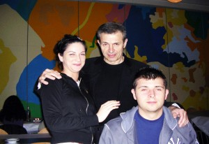 cerka, otac i sin na misiji zacinjanja Ashihare u Srbiji