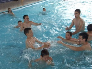 igre na bazenu
