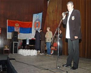 Svetlan Skenderovski daje godisnji izvestaj o radu saveza
