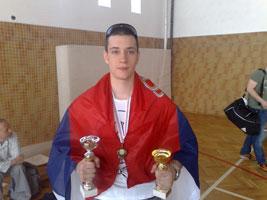 Nikola Savić je proglasen za najboljeg učesnika turnira